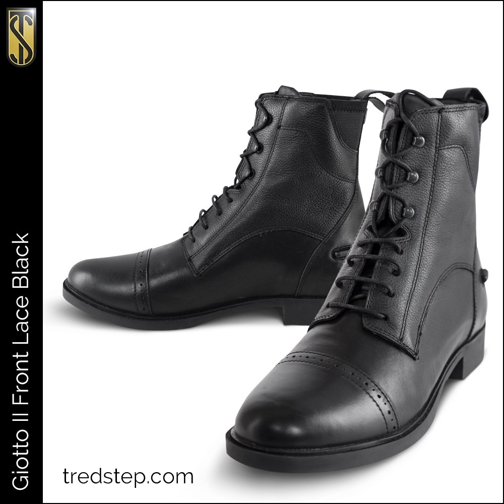 Giotto II Front Lace Paddock Boots